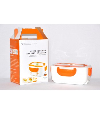 Multi-function Electric Lunch box with PTC Aluminium design! Keeps food fresh and warm
