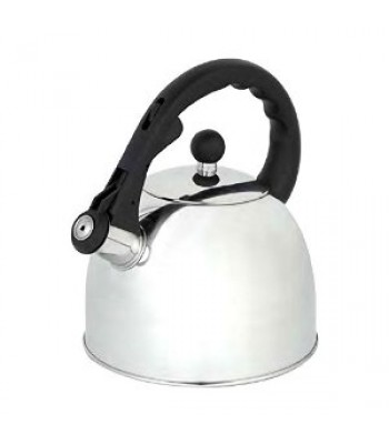 Premium Quality 3 Litres capacity Gas Kettle Stainless Steel Finish (Not Electric)