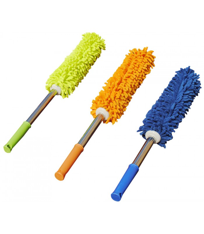 Microfiber Duster with Handle For Car & Furniture Cleaning
