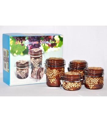 4 pcs Multipurpose Kitchen Condiment set